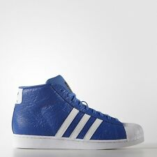 Adidas Superstar Pro Model Animal Blue/White Men Trainers Shoes 9.5_10.5_12_12.5