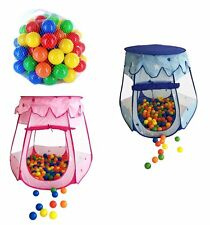 Kids Tent Ball pit Balls Tent Play House Babyzelt Indoor tent colourful colours