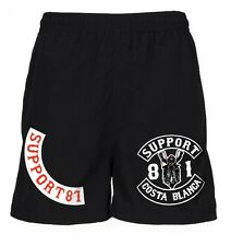 031 Support 81 Hells Angels Sport Shorts Biker black