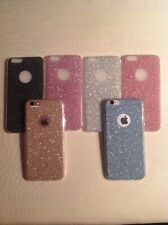 """GLITTER SPARKLY BACK Fits IPhone Soft Bling Shock Proof Silicone Case Cover """"75"""