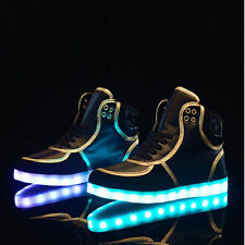 LED Light Up Shoes LED Trainers sneakers LED High Tops Unisex ASK FOR ALL SIZES