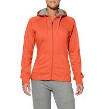 Asics Damen Kapuzenjacke Knit Full Zip Hoodie, orange, versch. Größen  **NEU**