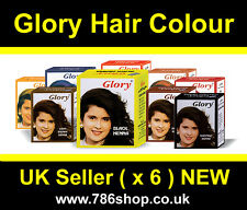 Glory Henna Hair Colour Dye ( Best Selling ) Brand New ( 6 x 10g Sachets ) Halal