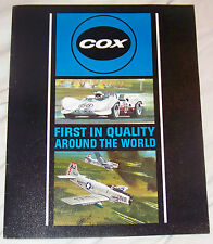 COX 1967 COMPETION CARS AND PARTS VINTAGE CATALOG