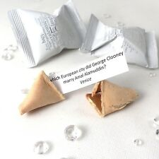 Wedding Trivia Fortune Cookies - Wedding Fortune Cookies - Wedding Favours