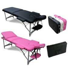 Portable Folding Alu Massage Table Tattoo Therapy Beauty Couch Bed Lightweight