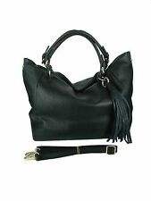 borsa donna in vera pelle morbida  made in italy nuova bag leather tracolla