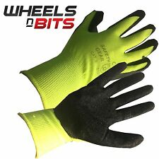 10 20 30 Pairs Builders Protective Gardening DIY Latex Rubber Coated Work Gloves