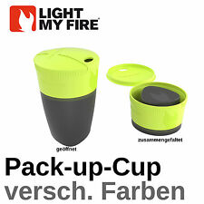 Light My Fire - Pack-up-Cup PAC UP COPPA BECHER Bicchiere pieghevole TAZZE