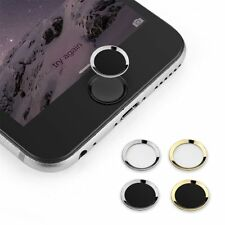 Aluminium Home Button Sticker For iPhone 6,6s 6 plus, 5s  iPad Touch ID