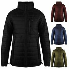 Mens New Quilted Bubble Puffer Padded Thick Warm ZIP Coat Puffa Jacket TOP 8-14
