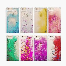 Glitter Bling Stars Dynamic Liquid Colourful Case Cover Fits Apple iPhone 6 6s