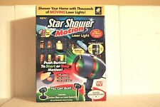 New Star Shower Motion Laser Light w/Base & Stake Christmas, Valentine, Party