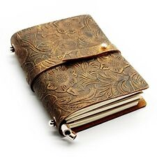 NEW Journal Diary Notebook Leather Handmade Blank Vintage Retro Paper Sketchbook