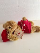 NWT Hallmark Valentine Stuffed Bear Plush