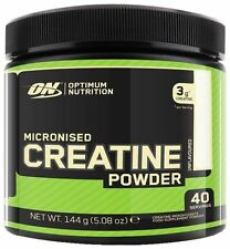 Optimum Nutrition Creatine Powder 144g - 634g Micronized Monohydrate 40-88 serv