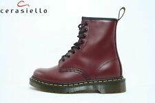 502 Anfibio DR Martens bordeaux spazzolato art 1460  10072600 1460 SMOOTH RED