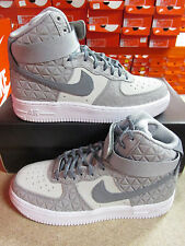 Nike Womens Air Force 1 Hi PRM Suede Hi Top Trainers 845065 001 Sneakers Shoes