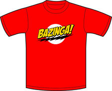 Sheldon Cooper bazinga Big Bang Theory T-shirt