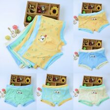 Cartoon Boy Kids Shorts Flat underwear Children Boxer Underpants L-XXL