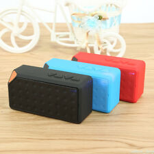 Cube X3 Wireless Mini Bluetooth V2.1 Speaker Built-in Mic Support USB For Phone