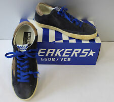 Golden Goose Superstar Herren Sneakers div Gr. col. Navy Suede Club Occasion (Z)
