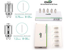 High Quality  Eleaf GS Air 2 Atomizer Dual Coils Head Replacement 1.2, 0.75 ohm
