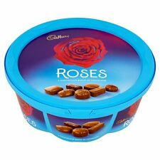ROSES AND QUALITY STREET PLASTIC COLLECTIBLES STORAGE CONTAINERS TUBS - EMPTY