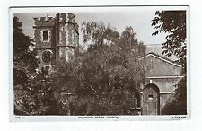Richmond Parish Church Postcard 1952 - Tucks Post Card