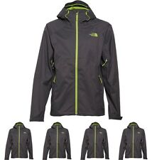 MODA THE NORTH FACE Mens Sequence 3 Layer Hyvent Waterproof Jacket Asphalt Grey