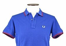 POLO M/CORTA UOMO FRED PERRY art.30102148 col.MAIOLICA- MADE IN ITALY SCONTO 50%