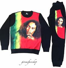 Bob Marley tracksuit by Time is Money, street dance hip hop jogging set, joggers