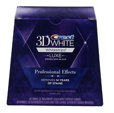 20 Luxe Professional Effects Teeth Whitestrips Denti Strisce Sbiancanti C rest3