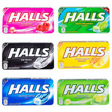 Halls Flavored Candy Homemade Relief of Cough & Soothing Sore Throat 8 pieces