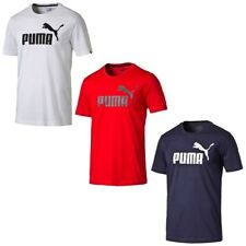 PUMA Herren ESS Essential No.1 Logo Tee T-Shirt Keeps You Dry