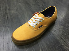 VANS scarpe uomo  Authentic (washed canvas) Citrus gum skate sneakers