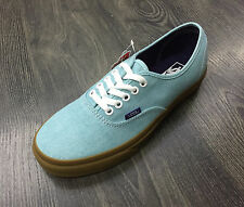 VANS scsrpe uomo Authentic (washed canvas) Blue radiance gum skate sneakers