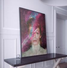 David Bowie Painting Print. David Bowie Poster.  David Bowie Gift