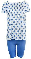 Girls Baby Toddler Ruche Gypsy Polka Spot Top & Leggings Set 9 Months to 4 Years