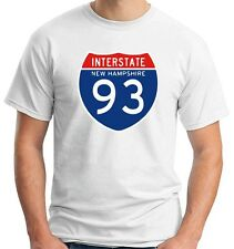 T-shirt TSTEM0044 interstate 93 nh