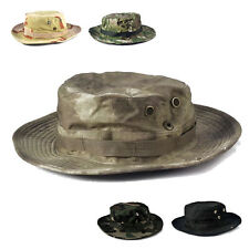 Military Army Wide Brim Boonie Hat Bucket Hat Boonie Hunting Fishing Outdoor Cap