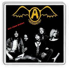 Aerosmith Album Cover Drinks Coaster. 15 Album Options.