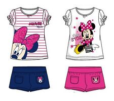 DISNEY MINNIE TOPOLINA maglietta + Pantaloncini Set estate set ragazza