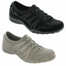 Skechers Breathe Easy Moneybags Womens Shoes Memory Foam Elasticated Trainers