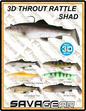 """Savage Gear """"3D THROUT RATTLE SHAD"""" 17cm 80gr artificiale spinning luccio bass"""