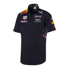 Red Bull Racing F1 Official Teamline Team Short Sleeve Shirt - 2017 - size small