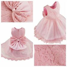 Kids Baby Princess Bridesmaid Flower Girl Dresses Wedding Formal Party Prom