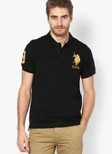 US POLO LOGO BLACK T-SHIRT AT 399 ONLY
