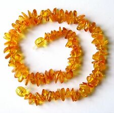 Genuine Baltic amber necklace, child children amber baby to teen sizes, honey