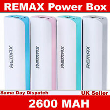 Original Remax USB Power Bank 2600mAh Portable Backup Battery for Smartphones